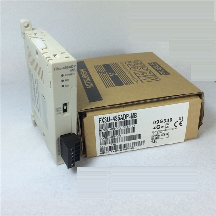 Details about  /Used Mitsubishi FX3U-485ADP Interface Module 1PCS